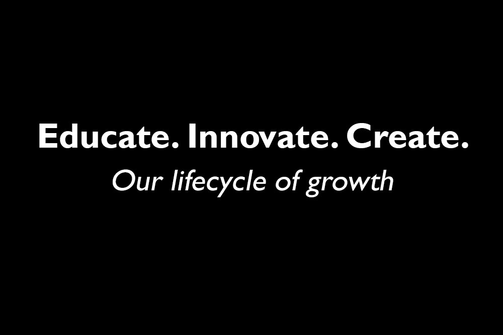 Core Value #3 - Educate, Innovate, Create